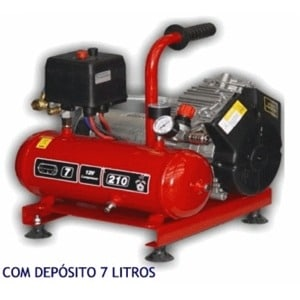 Compressor Eletrico 24V Baixa Pressão 280Lt/min C/depósito