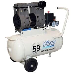Compressor SUPERSILENT59 160Lt/min-0,56kW-Dep.24Lt