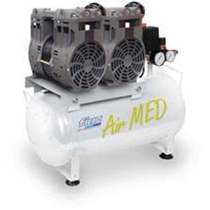 Compressor Estomatologia 320Lt/min-2×0,75HP-Dep.24Lt