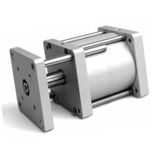 Cilindro Compacto D/E Anti-Rotação