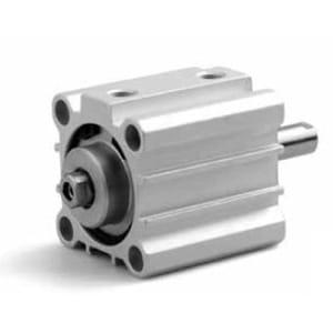 Cilindro Pequeno Curso D/E Magnético Haste Passante