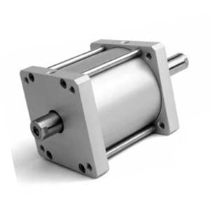 Cilindro Compacto D/E Haste Passante