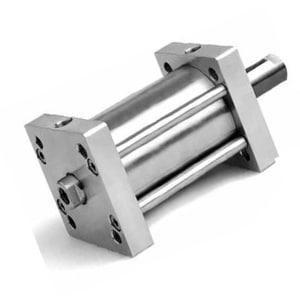 Compacto ISO 21287 Inox D/E Magnético Haste Passante