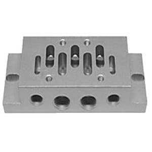 Bases para Válvulas ISO 1/2/3 Simples