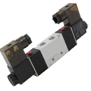 Electroválvula 5/3 Standard bi-estável Centros Abertos