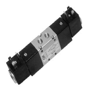Electroválvula 5/3 Standard bi-estável Centros Fechados