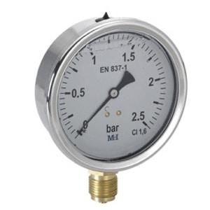 Manómetro a Seco Rosca Vertical Ø 63-10(MGV)