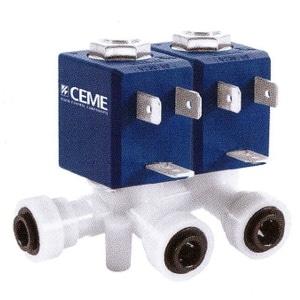Electroválvula Fluidos 2/2 e 3/2 Acção-Direta para Aplicações específicas Série V7-Água