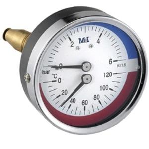 Termo-manómetros