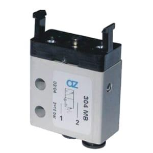 Válvula de pino 3/2 Micro Entrada Inferior Ø4mm N.A.