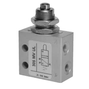 Válvula de pino 3/2 Micro Entrada Lateral para Painel M5 N.A.