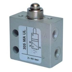 Válvula de pino 3/2 Micro Entrada Lateral M5 N.A.