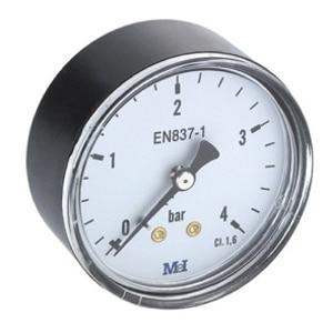 Manómetro  a seco Rosca Horizontal Ø 40-50-63-80(MH)