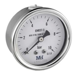 Manómetro a seco Ø 63-100-150 (MH)