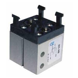 Válvula de pino 5/2 Micro M5 Alimentação Inferior