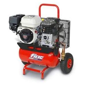 Motocompressor 5HP-10bar-290Lt/min-Depósito 22Lt.