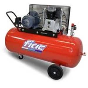 Compressor por Correia 4HP-10bar-510Lt/min-Depósito 200Lt.