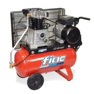 Compressor por Correia 3HP-10bar-350Lt/min-Depósito 100Lt.