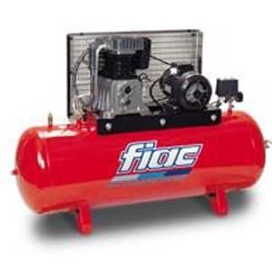 Compressor por Correia 7,5HP-10bar-830Lt/min-Depósito 500Lt.