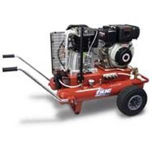 Motocompressor 7,7HP-10bar-650Lt/min-Depósito 17+17Lt.