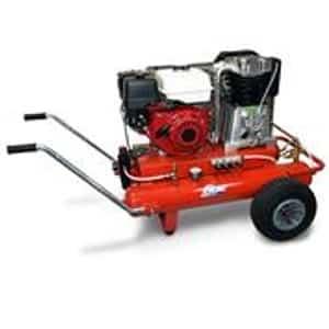 Motocompressor 9HP-10bar-670Lt/min-Depósito 17+17Lt.