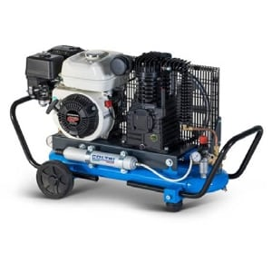 Compressor Baixa Pressão-Gasolina 5.5HP -330Lt./min.
