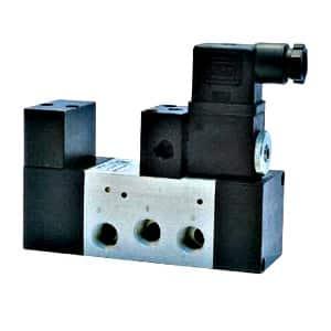 Válvula 5/2 Oscilante Comando Eléctrico Standard – 1/4″