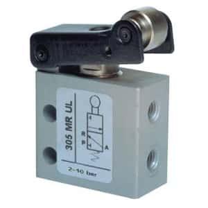 Válvula 3/2 de Rolo-Micro M5-Alimentação Lateral-NF