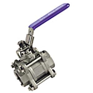 Válvula Macho Esférico Inox AISI 316-3 Corpos(120)